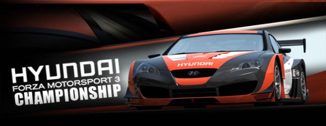 Hyundai Forza Motorsport 3 Championship