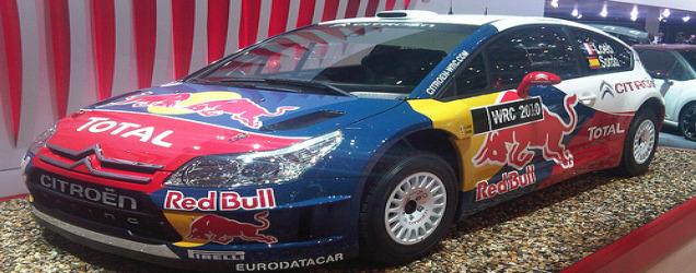 The WRC Citroen