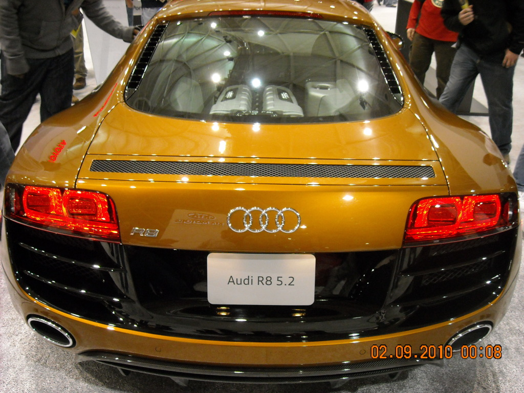 GTDon's favourite - the Audi R8 2.5