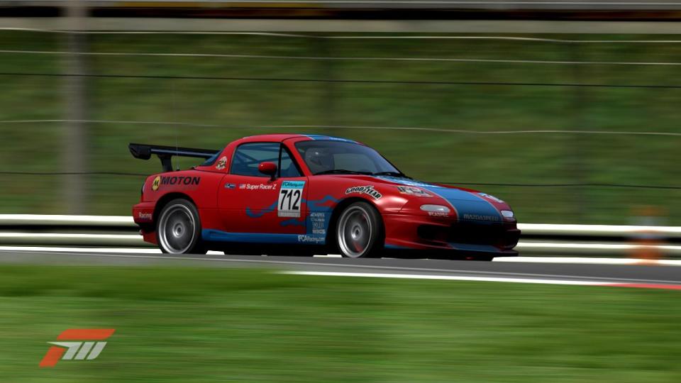 The Mazda Miata (or MX-5) used in IFCA Spec Racing 2010 Season 8