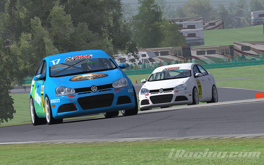 Is iRacing enough to buy racing? - iRacing at Virginia by jbspec7 on Flickr