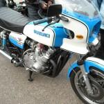 Classic Suzuki GS1000S at Dulano's Pizza