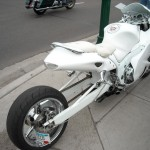 Special with extended swingarm at Dulano's Pizza