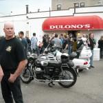 Classic Moto Guzzi at Dulano's Pizza
