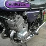 Kawasaki 750 at Dulano's Pizza