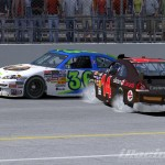 Daytona 500 iRacing crash by jbspec7 on Flickr