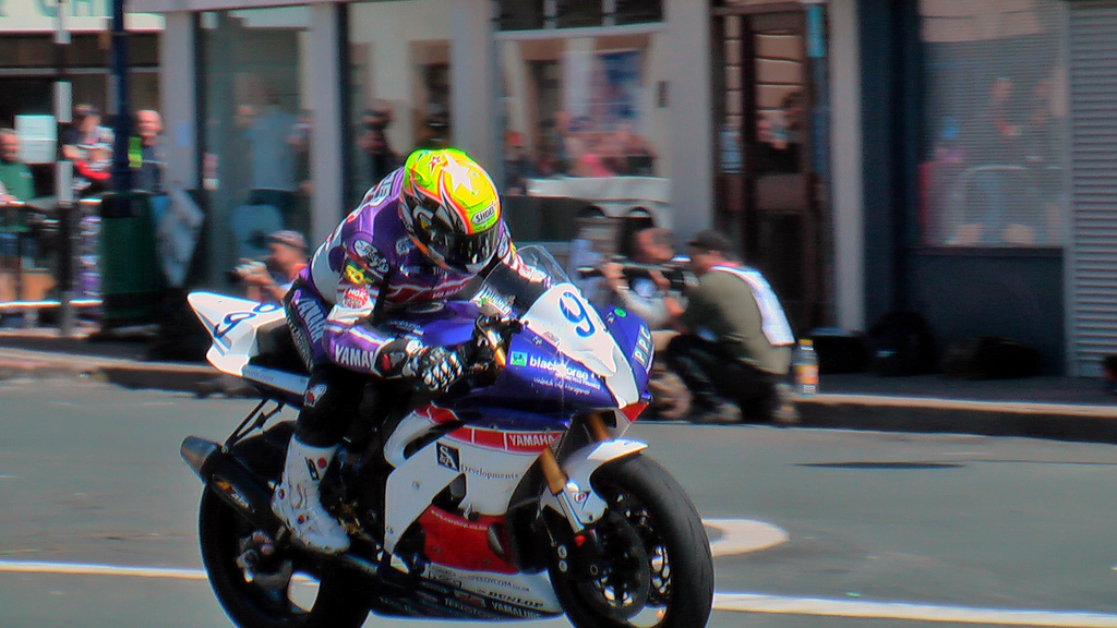 Isle of Man TT 2008 action shot by Jonathan Camp on Flickr