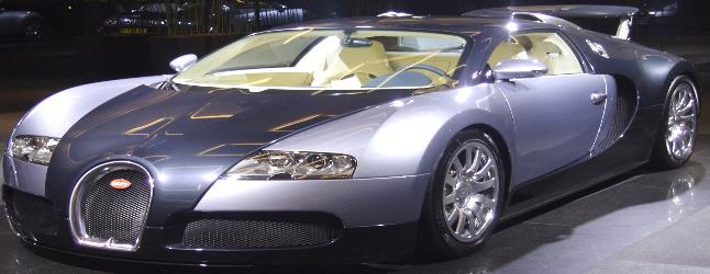 Bugatti Veyron - my dream car by bikracer