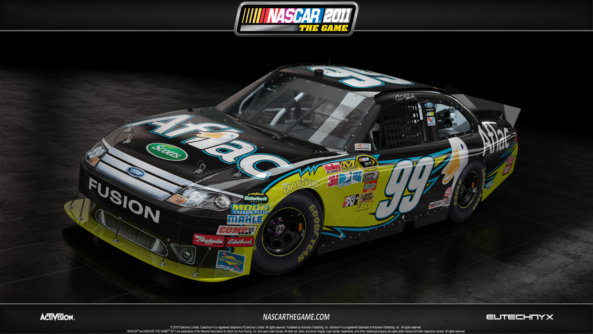 NASCAR The Game 2011 - Carl Edwards | OnlineRaceDriver