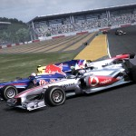 F1 2010 Red Bull and McLaren screenshot