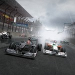 F1 2010 Mercedes and Force Indi screenshot