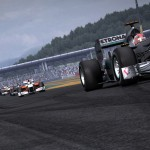 F1 2010 Mercedes action screenshot