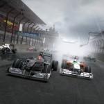 F1 2010 Mercedes and Force Indi screenshot