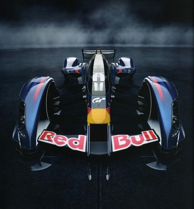 Gran Turismo 5 Red Bull X-1 Prototype designed by Adrian Newey