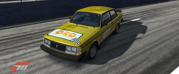 OnlineRaceDriver Forza project car - Volvo 242 Turbo Evolution