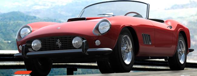 Forza Motorsport 3 Ferrari 250 GT California
