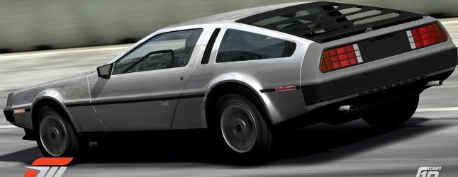 GT5 vs FM3: The Back to the Future DeLorean battle