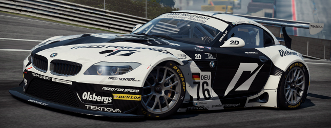 Need for Speed Shift 2 Unleashed Team NFS BMW Z4 GT4