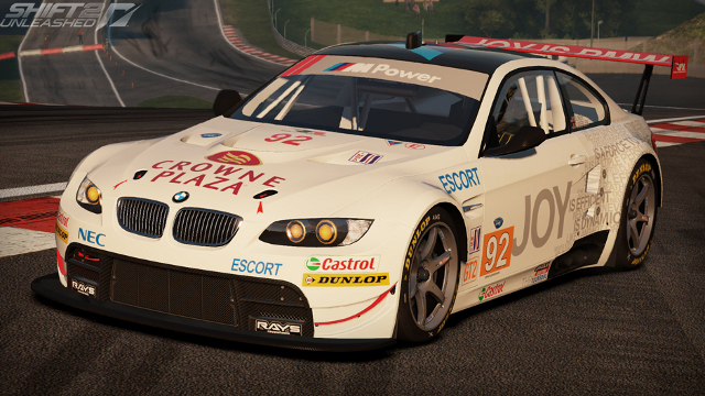 Need for Speed Shift 2 Unleashed BMW M3 GT ALMS