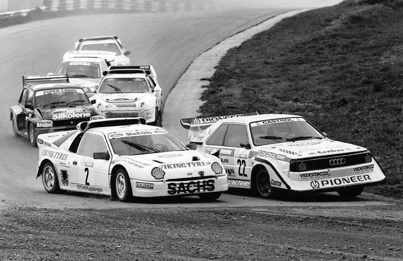 Rallycross image licenced under Creative Commons. Click for details