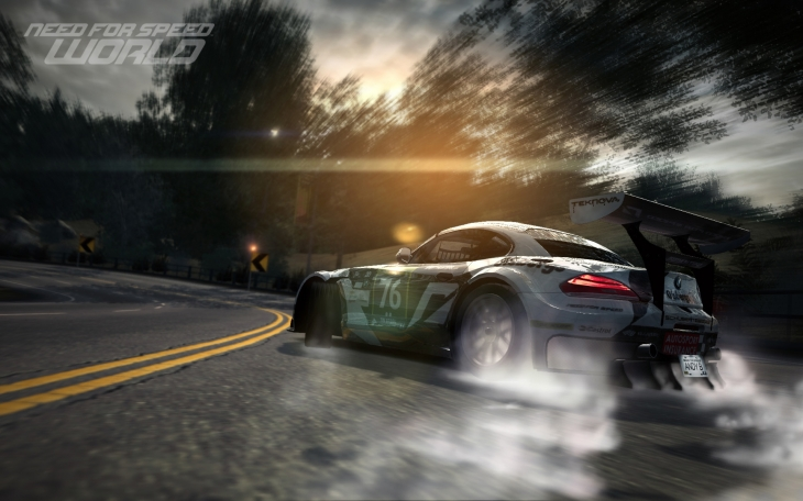 Need for Speed World BMW Z4 GT3