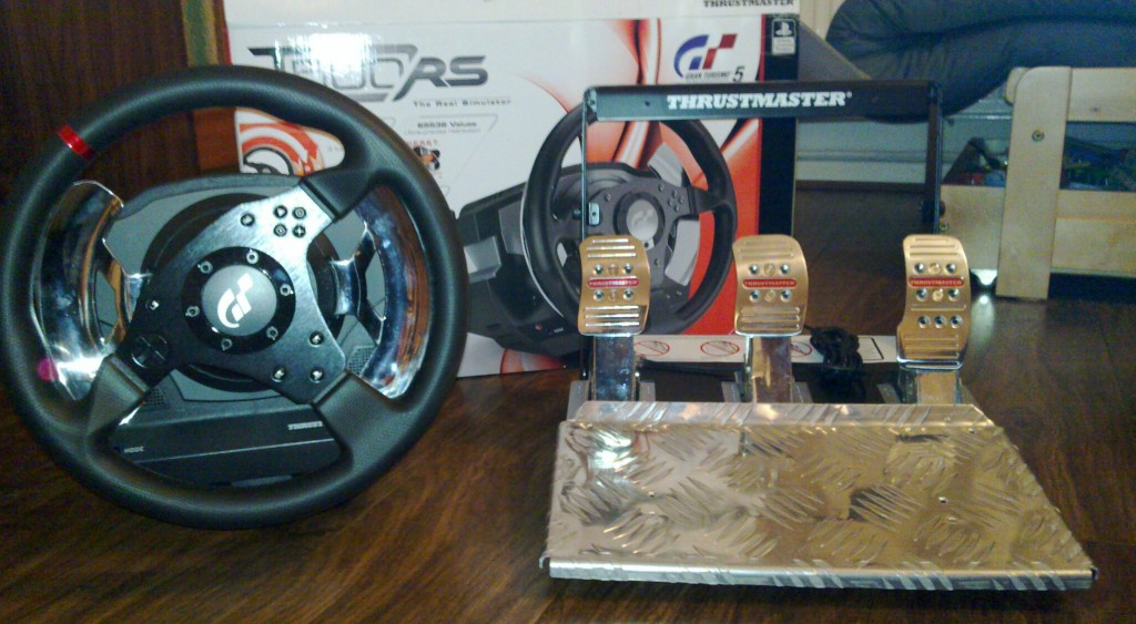 Thrustmaster T500 RS wheel and pedal set review