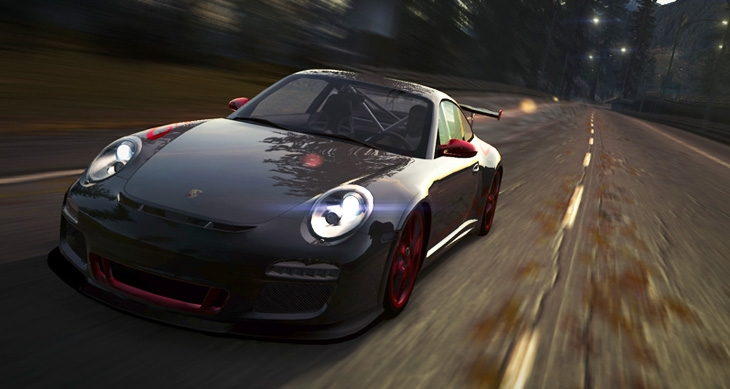 Porsche 911 GT3 RS races into Need for Speed World