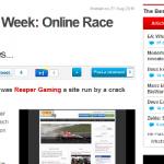 CVGs Site of the Week OnlineRaceDriver