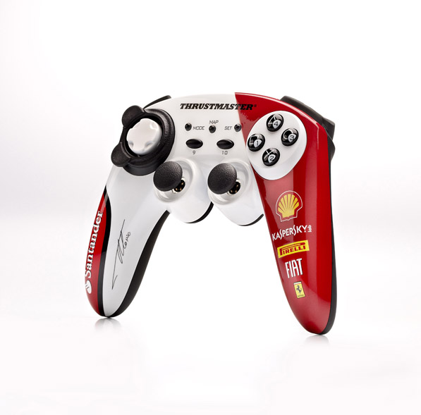 Thrustmaster F1 Wireless Gamepad Ferrari 150 Italia Alonso Edition