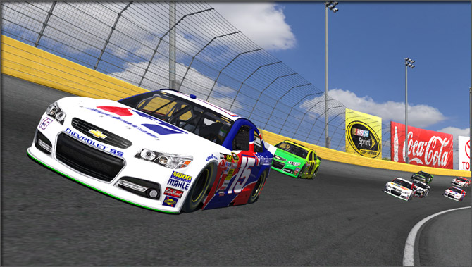 iRacing's Chevrolet SS Gen 6 Sprint Cup Car