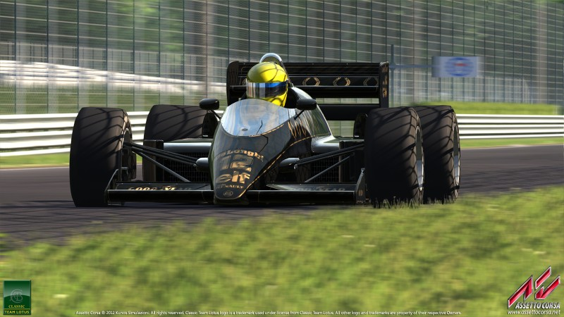 Assetto Corsa Classic Team Lotus 98T 19