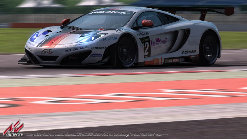 Assetto Corsa McLaren MP4 - 12C GT3 15 external race