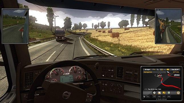Euro Truck Sim 2 - heavy haulin'!