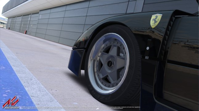 Assetto Corsa - a little temptation in F40 form.