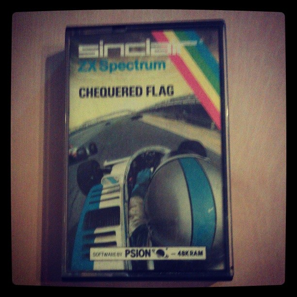 Chequered Flag - ZX Spectrum Cassette