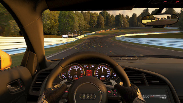 Project CARS - the Audi R8 V10 plus.