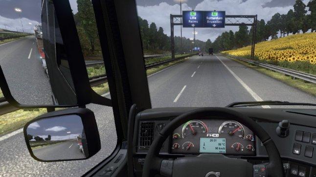 Euro Truck Sim 2 - on the way to Rotterdam