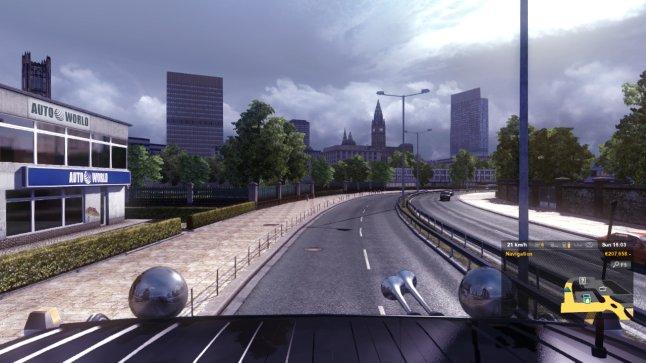Euro Truck Simulator 2 - A Mancunian Way
