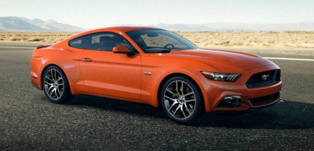 Ford Mustang GT 2015 in Competition Orange