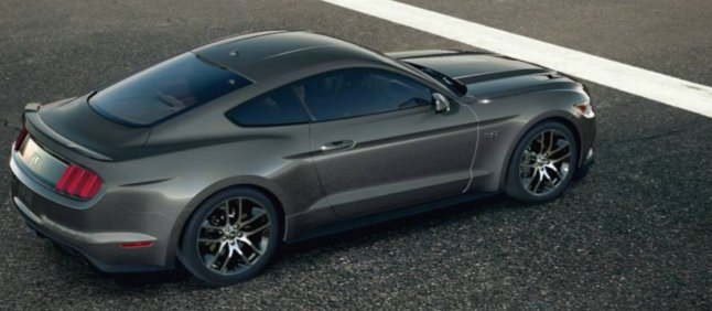 Ford Mustang GT 2015 (Magnetic)