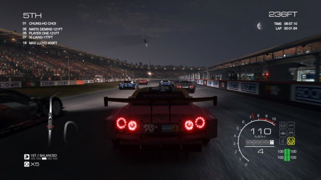 GRID: Autosport - Night Racing
