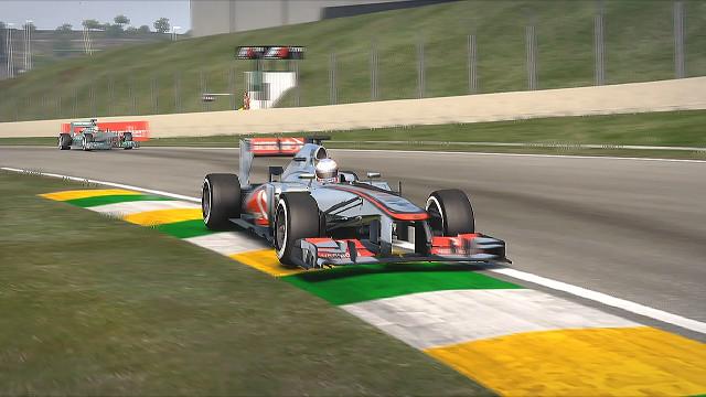 F1 2013 Brazil McLaren MP4-28