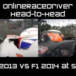 F1 2014: F1 2013 Head-to-Head Spa Video