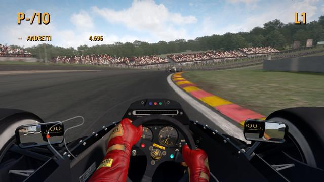 F1 2013 1986 Team Lotus 98T Mario Andretti Team Legend