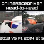 F1 2014 2013 Spa