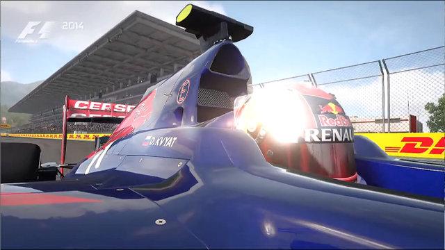 F1 2014 Sochi Kvyat 01