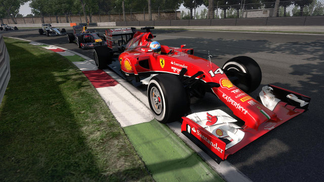F1 2014 Ferrari F14 T #14 Alonso Leads