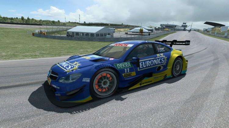 RaceRoom Zandvoort T1 brakes 578