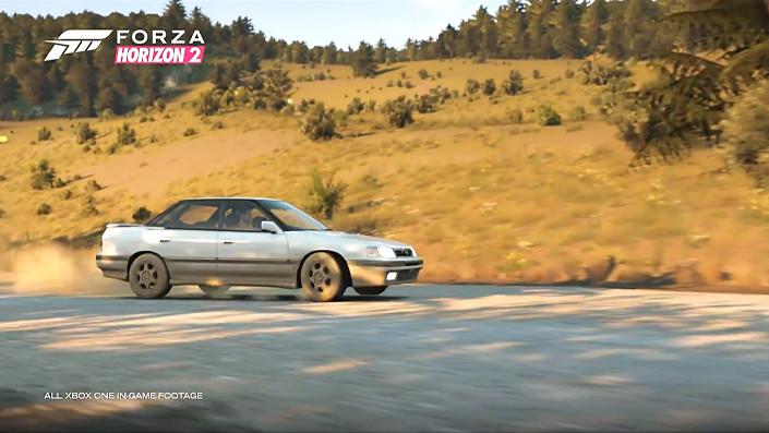 Forza Horizon 2 Falken Car Pack 1990 Subaru Legacy RS handbrake e-brake a