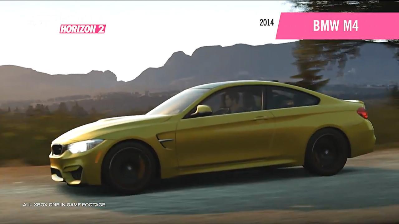 Forza Horizon 2 Falken Car Pack 2014 Bmw M4 Side Onlineracedriver